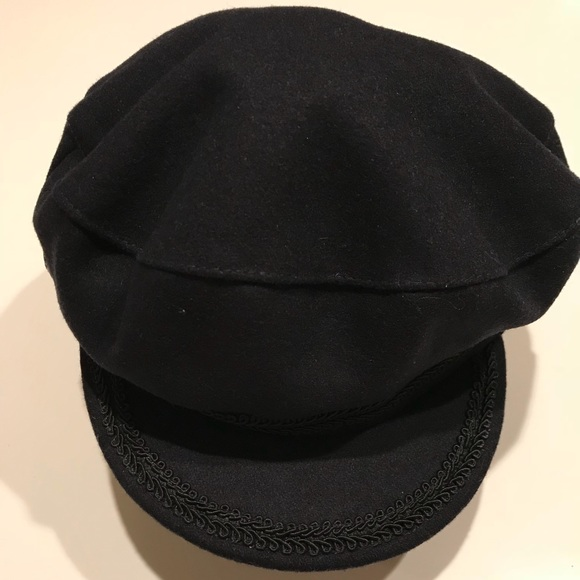bc90b344 Zara Accessories | News Boy Cap For Ladies Black Medium | Poshmark